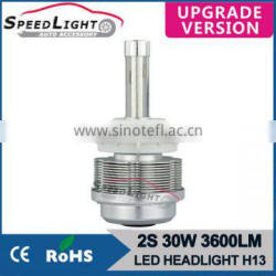 Speedlight Upgrad Version 30W 3600LM 2S High Power LED Headlamp