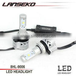 High lumen 6000lm 12v 36w led headlight 9006 for all cars