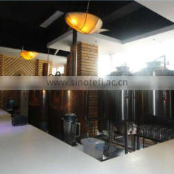 Bars brewery, red copper Beer brew equipment / Red copper Beer brewing kits/appliance/device/facilities