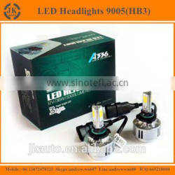 Excellent Quality Three Sided 9005 LED Headlights Factory Direct Wholesale Super Bright LED Headlight 9005 HB3