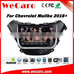 Wecaro WC--CM1038 10.2 inch android 4.4/5.1 Car DVD Gps Navigation for chevrolet malibu 2016 With Wifi and 3G GPS Radio
