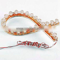 12V 2.4M Car Led Lamp,8W Flexible Strip Light