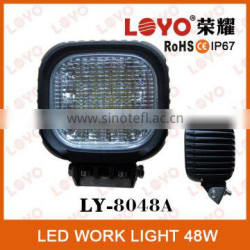 12V Promotion 16*3W Portable LED Work Light, Super Bright LED Work Light, IP67 48W LED Work Light
