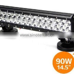 "14.5"" LED Light Bar Off Road ATV UTV Truck Lights 90W Off Road LED Light Bar"