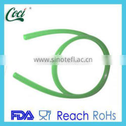 heat resistant colored soft silicone tubing