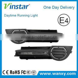 High quality auto waterproof led daytime running lights led drl lights for audi A3 8P with E-Mark