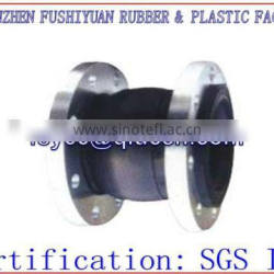 flange soft rubber compensator joint air spring pipe shock absorber throat pump special flexible rubber joint flange connections