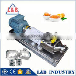 China Suppliers Stainless Steel Helical Rotor Twin Screw Paste Pump