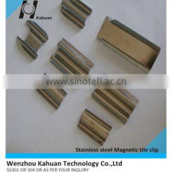 Manufacturers of stainless steel magnetic tile clip