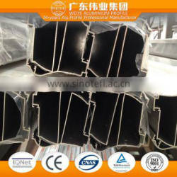 5050 T3-T8 0.8-1.4mm aluminum extruded for curtain wall with eletrophoresis finish