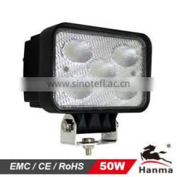 Super bright led work light for truck,car accessories 50W CREE LED work light, waterproof auto lamp