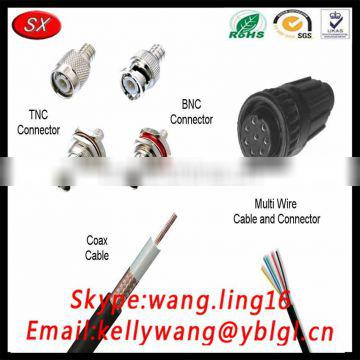 Shuangxin Factory Custom BNC Connector, Mini Male Connector For Audio Cable