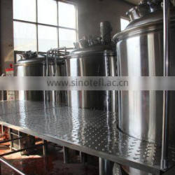 2015 TOP SALE Beer brewing equipment 1000L factory used brewing machine Brewery plant for sale