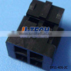 2.0mm pitch PCB board to wire connector Hirose 4 pin connector DF11-4DS-2C housing female Black Socket Polyamide UL94V-0