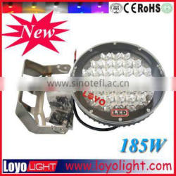 """Super bright 9"""" truck led work light offroad 185w led daylight driving lights"""