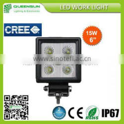 15W LED work light, led tractor working lights with 2 years warranty