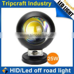 Popular Waterproof 12v 25w led work light Offroad HID DRIVING LIGHTS for Jeep Truck Bar