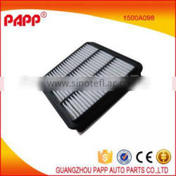 car accessories air filter for mitsubishi pajero I200 md620456 1500A098