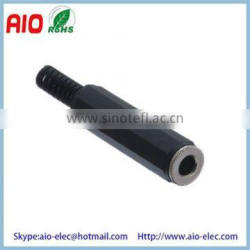 1 / 4 inch stereo Female 6.35mm headphone jack audio input connector