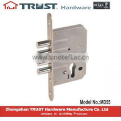 TRUST 55x45mm Motise Lock body with one Square bolt