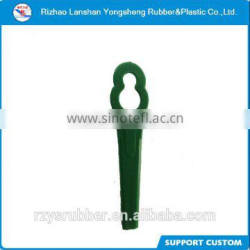 Green PP Plastic Lawnmower Blade for UK market