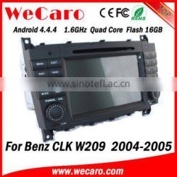 Wecaro WC-MB7508 Android 4.4.4 car dvd player 1080p for benz w209 android 2004 2005 Steering Wheel Control