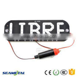 58SMD Taxi LED Top Light Beautiful Advertising Taxi Cab Top Lights Libre LED License Plate Lamp Quality Choice
