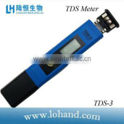 good quality data hold function auto shutoff hand held TDS tester
