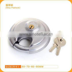 New Hot Sale Best Price Stainless Steel Disc Padlock