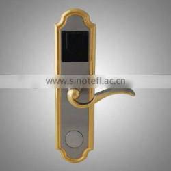 Zinc alloy low power consumption and low temprature RFID card lock, RFID hotel lock system K-3000B5-F