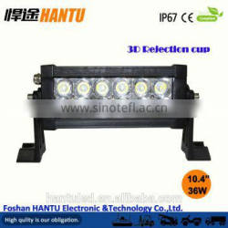"movable bracket led light bar led heavy machines light work off road lamp 2x7"" 40W LED headlight"