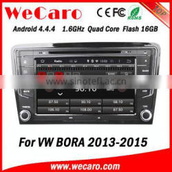 Wecaro WC-VU8007 Android 4.4.4 car multimedia system double din for vw bora car audio system audio system GPS 2013 2014 2015