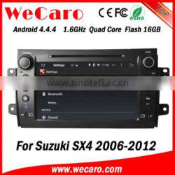 Wecaro WC-SS8081 Android 4.4.4 car multimedia system in dash for suzuki sx4 android android Quality Choice