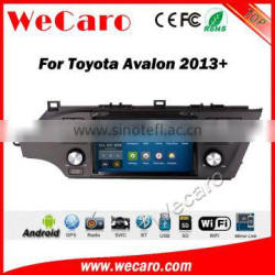 Wecaro WC-TA8059 android 5.1.1 car radio stereo gps navigation for toyota avalon 2013-2015 car dvd player WIFI 3G Playstore