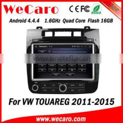 Wecaro WC-VT8009 Android 4.4.4 car stereo 1024 * 600 for volkswagen touareg android car radio WIFI 3G 16GB Flash 2011-2015