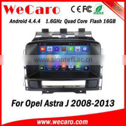 Wecaro WC-OU7882 Android 4.4.4 car stereo 2 din s100 platform car radio with gps for opel astra j radio gps 1080p 2008-2013