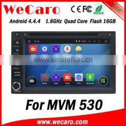 Wecaro WC-MC7232 Android 4.4.4 stereo indash for MVM 530 car audio player USB SD
