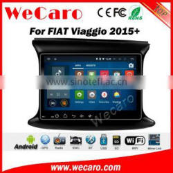 Wecaro WC-FV1022 10.2 inch android 4.4/5.1 Car DVD Gps Navigation for fiat Viaggio 2015 2016 With Wifi and 3G GPS Radio