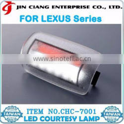 Welcome Guest Light FOR LEXUS LS600 RX330 LED CAR Courtesy LAMP
