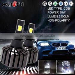 Super bright wireless design 30W 2400LM H3 projector headlight automotive headlight auto headlight
