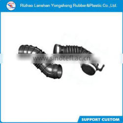 Motorcycle molded sound-absorbing expansion joint rubber bellow