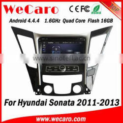 Wecaro WC-HI7029 Android 4.4.4 car multimedia system double din for hyundai i40 car audio player audio system GPS 2011-2013