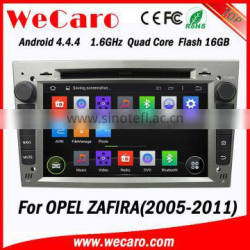 WECARO FACTORY Best Price Touch Screen Android Car Radio GPS for Opel Zafira 2005 - 2011 Quality Choice