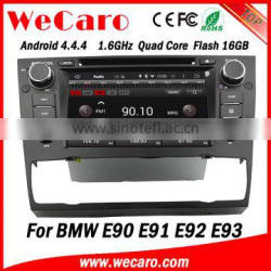 """Wecaro Android 4.4.4 car dvd player 7"""" touch screen For bmw e90 navigation Android 1.6 ghz cpu 2005-2012"""