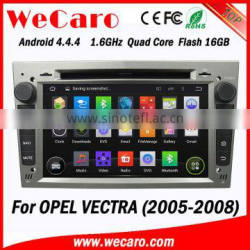 Wecaro In Dash DVD MP3 USB Touch Screen Android Car DVD GPS for Opel Vectra 2005 2006 2007 2008