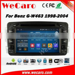 Wecaro WC-MB7507 Android 5.1.1 car dvd player for benz w463 navigation system radio gps 1998-2004 WIFI 3G Playstore Blluetooth