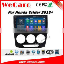 Wecaro WC-HC1035 10.2 inch android 4.4/5.1 car audio for honda crider car dvd With Wifi and 3G GPS Radio RDS Stereo System