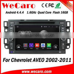 Wecaro WC-CU7011 Android 4.4.4 car multimedia system in dash for chevrolet aveo radio player with usb mp3 stereo GPS 2002 -2011