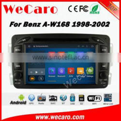 Wecaro WC-MB7507 Android 5.1.1 car dvd player For Benz A W168 car radio gps navigation 1998-2002 WIFI 3G Playstore
