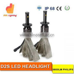 Hot selling in US market D2S led headlight bulb 12v automotive led headlight automotive led headlights FOR CARS